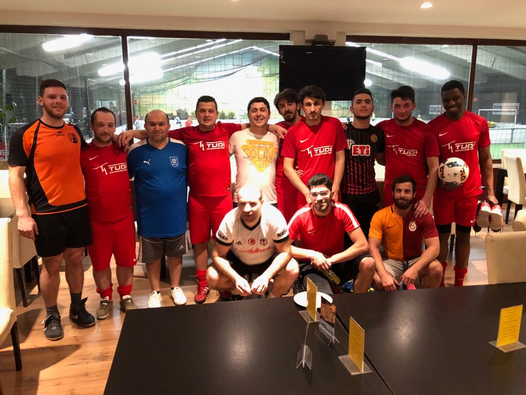 Fussballspiel TUDI vs. TG